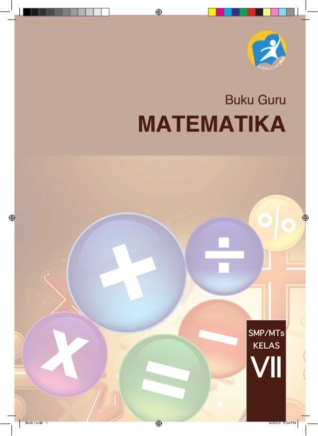 1 kelas pdf matematika buku smp