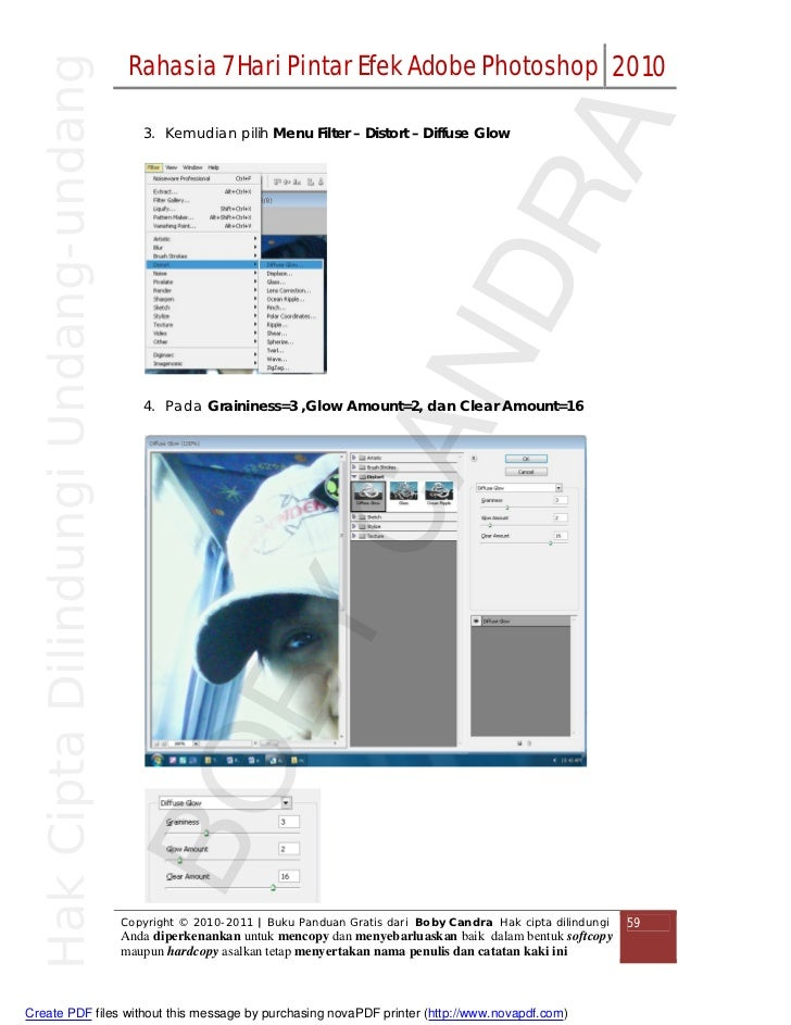 Tutorial Singkat dan Mudah Adobe photoshop - Boby Candra