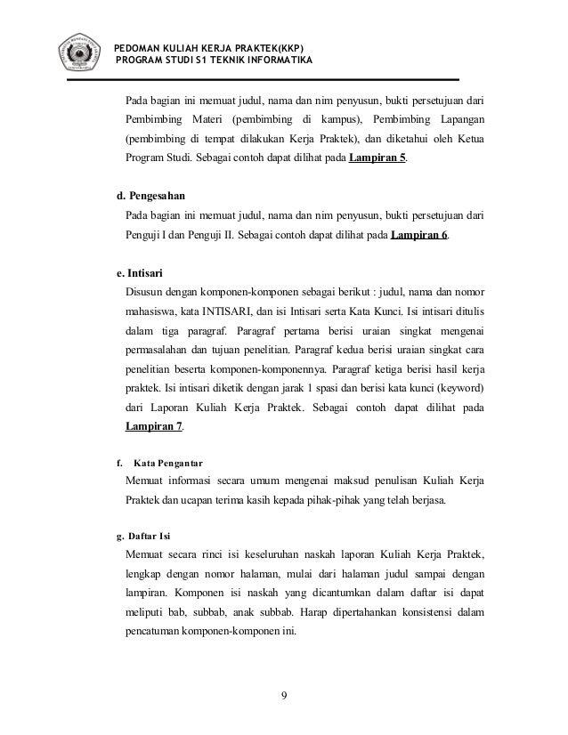 Buku Panduan Kkp Ti 2010