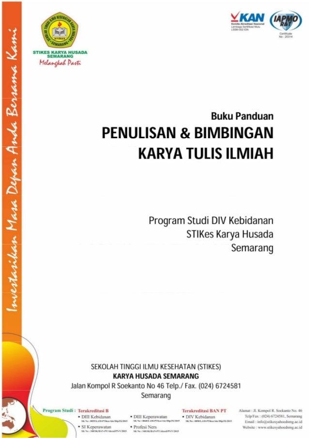 Buku Panduan Kti D Iv Kebidanan