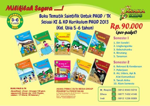 Buku Paud - Majalah TK PlayGroup   Buku Anak Balita BOP PAUD 2017 Slide 3