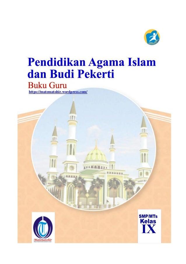 Buku Pegangan Guru Agama Islam Smp Kelas 9 Kurikulum 2013