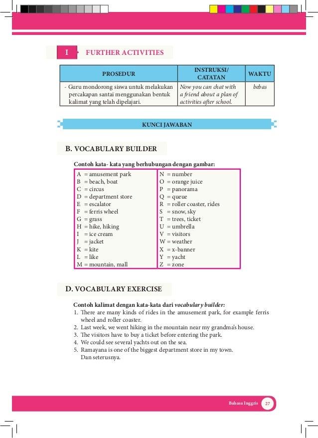 Kunci Jawaban Lks Bahasa Inggris Kelas 10 Semester 2 ...