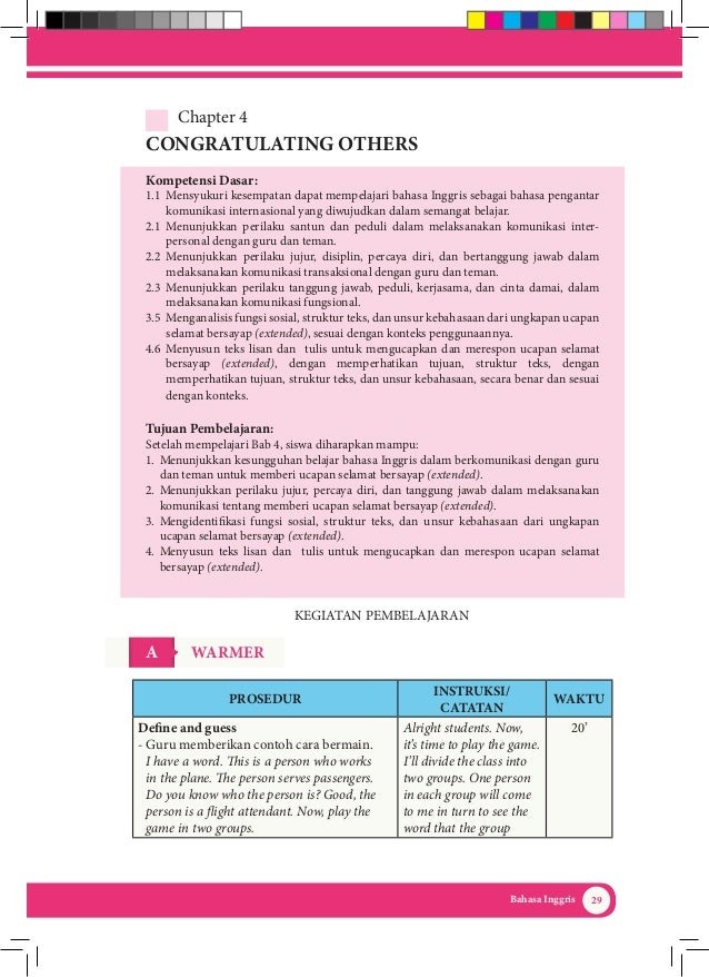 Kunci Jawaban Buku Bahasa Dan Sastra Inggris Kelas 10 Guru Galeri