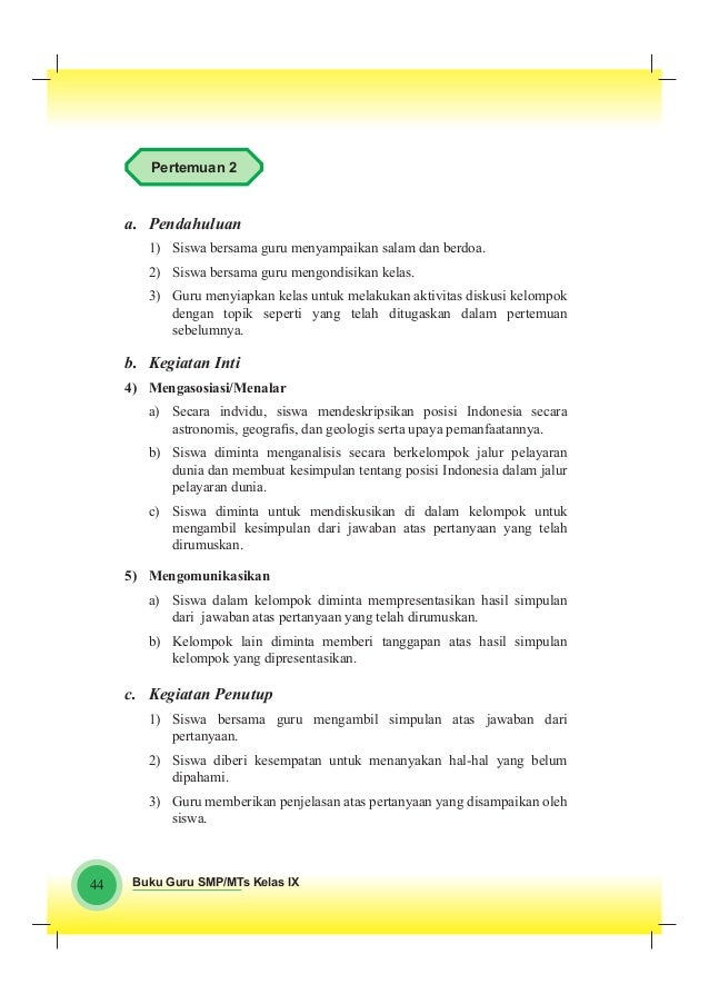 Kunci Jawaban Lks B Lampung Kelas 8 Semester 2