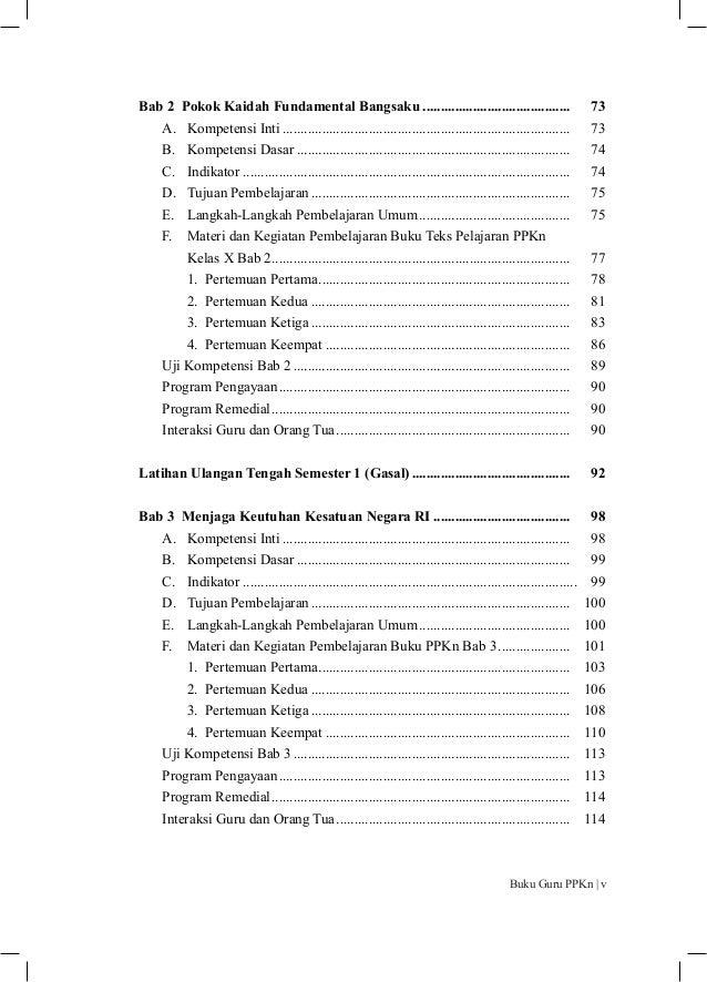 Buku Pegangan Guru Ppkn Sma Smk Kelas 10 Kurikulum 2013 Edisi Revisi