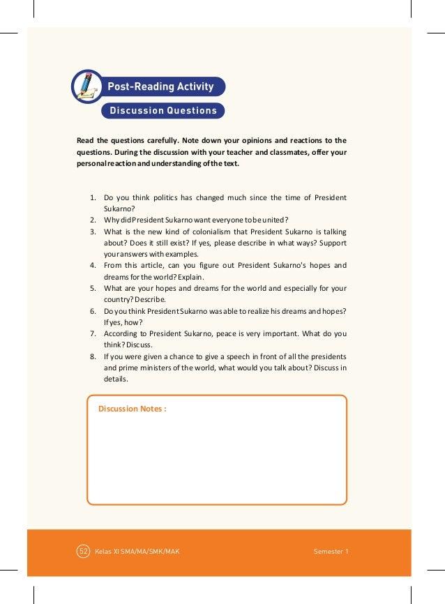 Buku Bahasa Inggris Kelas 11 Kurikulum 2013 Semester 1 ...