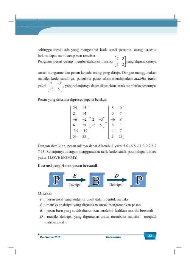 Kelas XII SMA/MA 34 Kegiatan 1.4.1 Mengekplorasi Invers Matriks Ayo Mengamati Amati fakta-fakta hasil perkalian bilangan b...
