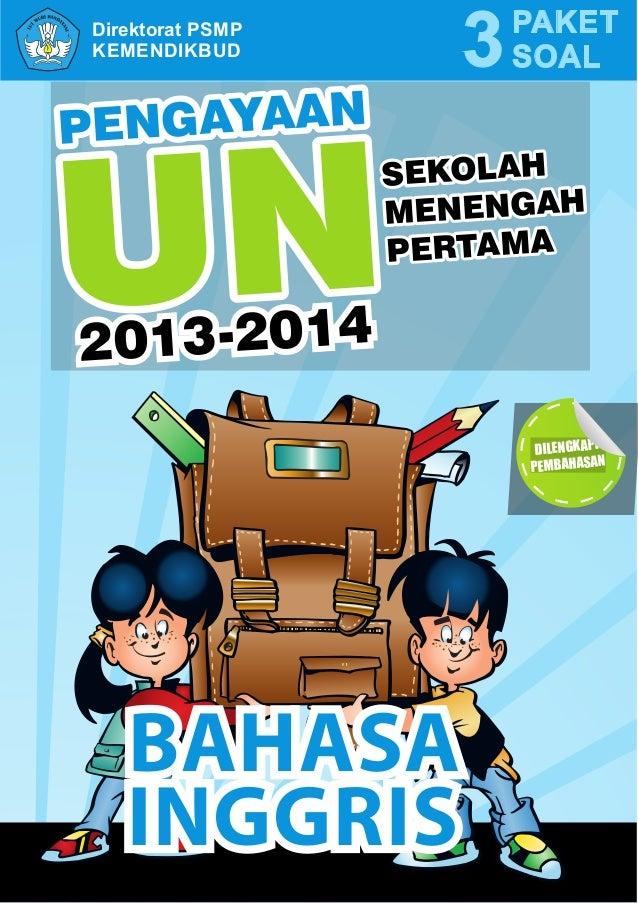 Buku Pengayaan Ujian Nasional Bahasa Inggris Smp Mts 2013 2014