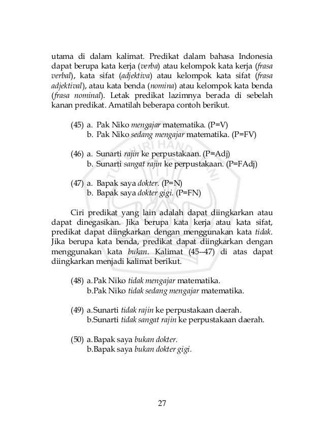 Buku Penyuluhan Kalimat