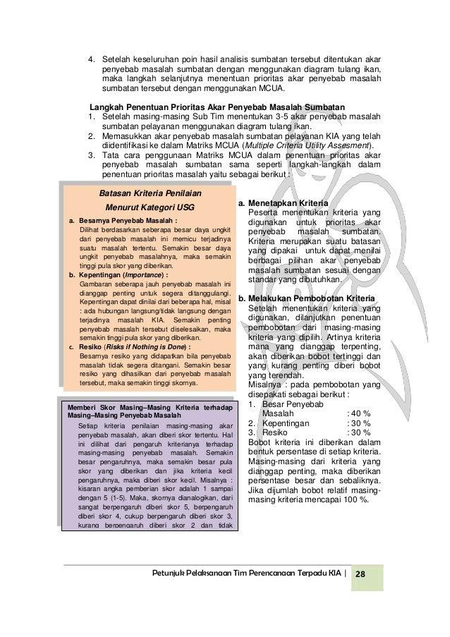 Buku petunjuk pelaksanaan perencanaan terpadu kesehatan ibu dan anak 29 ccuart Images