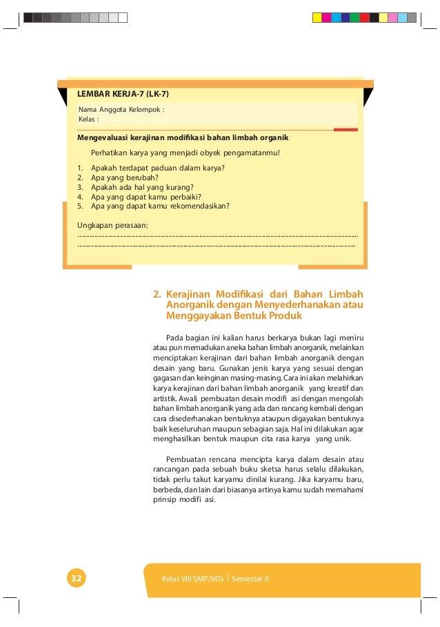 Kunci Jawaban Prakarya Kelas 8 Ilmusosial Id