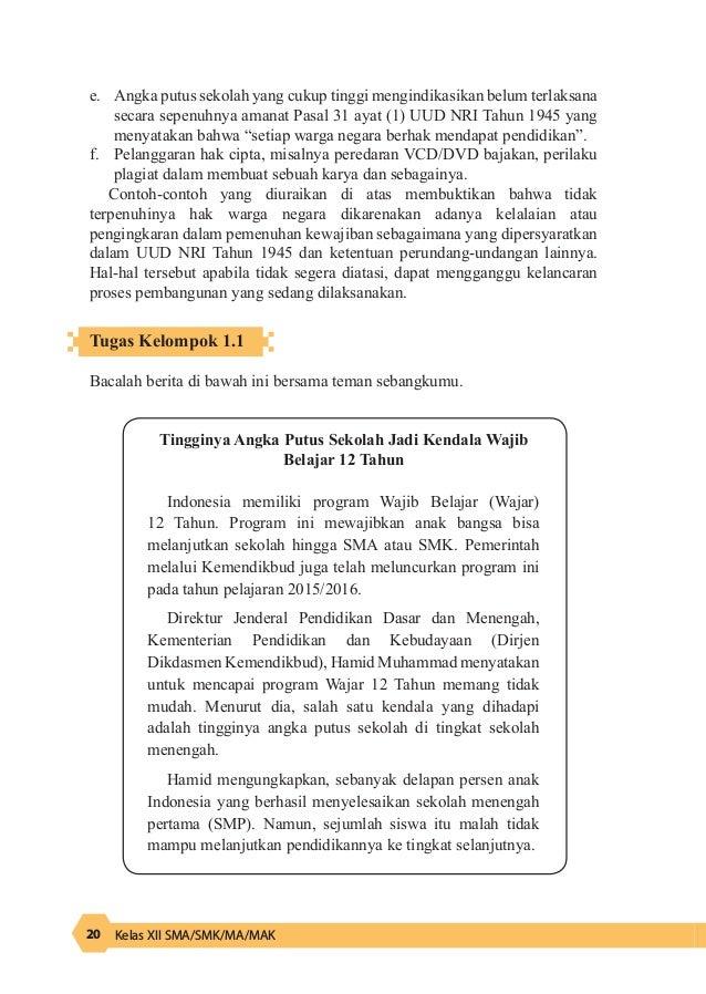 Kunci Jawaban Soal Pkn Kelas 12 Halaman 21 Solusi Pelajar