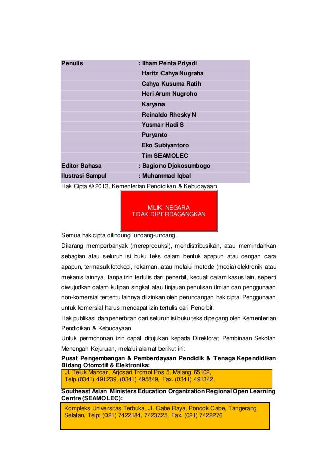 Penulis : Ilham Penta Priyadi Haritz Cahya Nugraha Cahya Kusuma Ratih Heri Arum Nugroho Karyana Reinaldo Rhesky N Yusmar H...