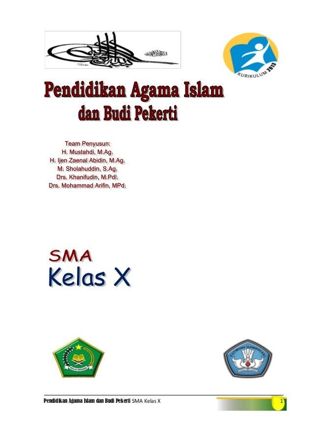 Pendidikan Agama Islam dan Budi Pekerti SMA Kelas X 1