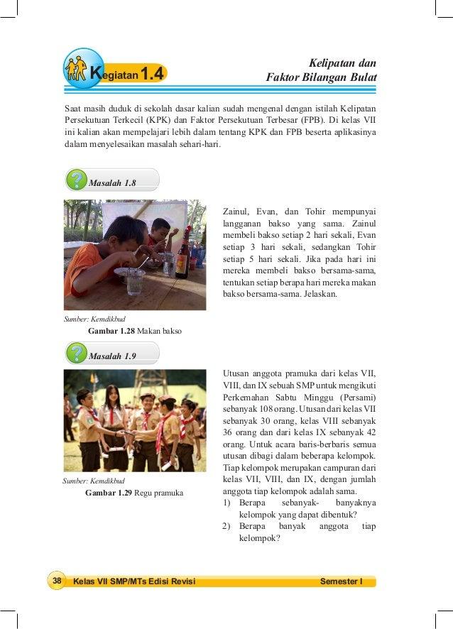 Buku siswa kelas vii semester 1 & 2 - K13