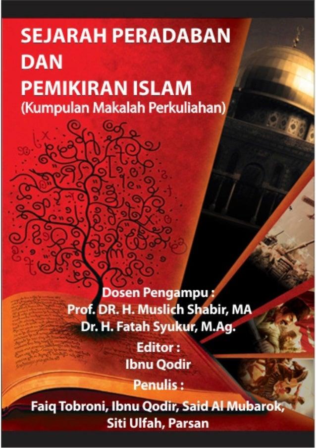 Daftar IsiDAFTAR ISIKondisi Peradaban Bangsa Arab Sebelum Islam DanPengaruhnya Bagi Hukum KeluargaOleh : Faiq TobroniPelet...