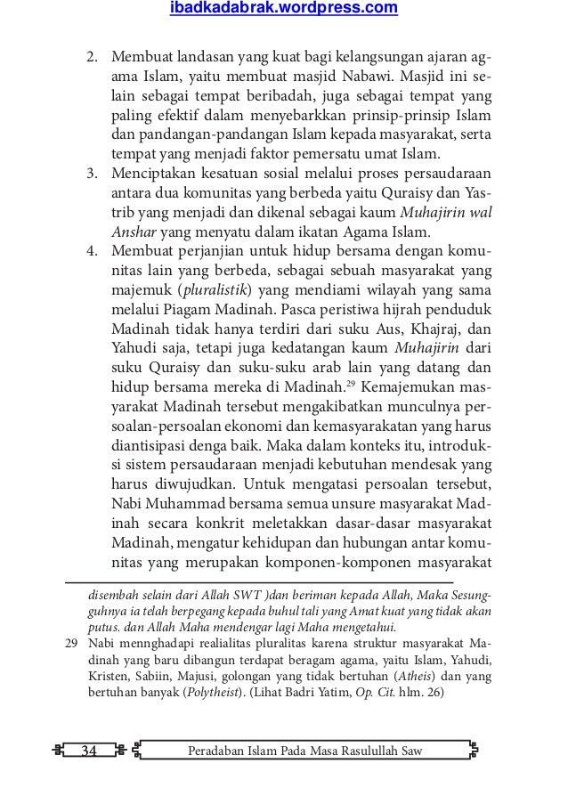 Kebudayaan pdf sejarah buku islam