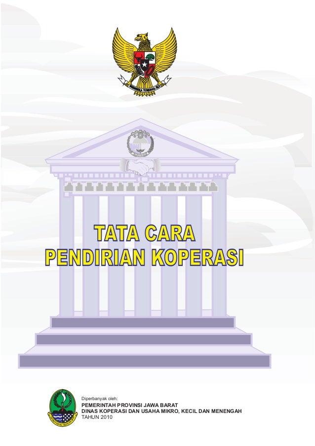GEM A H RIPAH REPEH R APIH PEMERINTAH PROVINSI JAWA BARAT DINAS KOPERASI DAN USAHA MIKRO, KECIL DAN MENENGAH TAHUN 2010 Di...