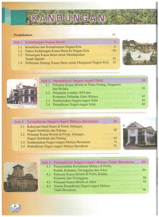 Buku Teks Sejarah Tingkatan 3 Kssm