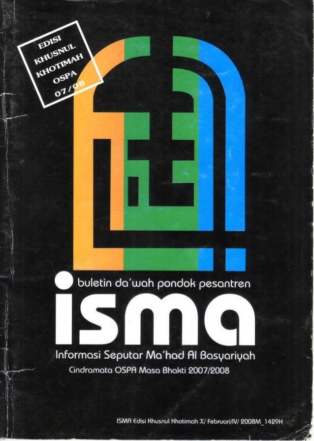 Buletin Isma Pondok Pesantren Al-Basyariyah Bandung (Edisi Khusus Februari 2008)