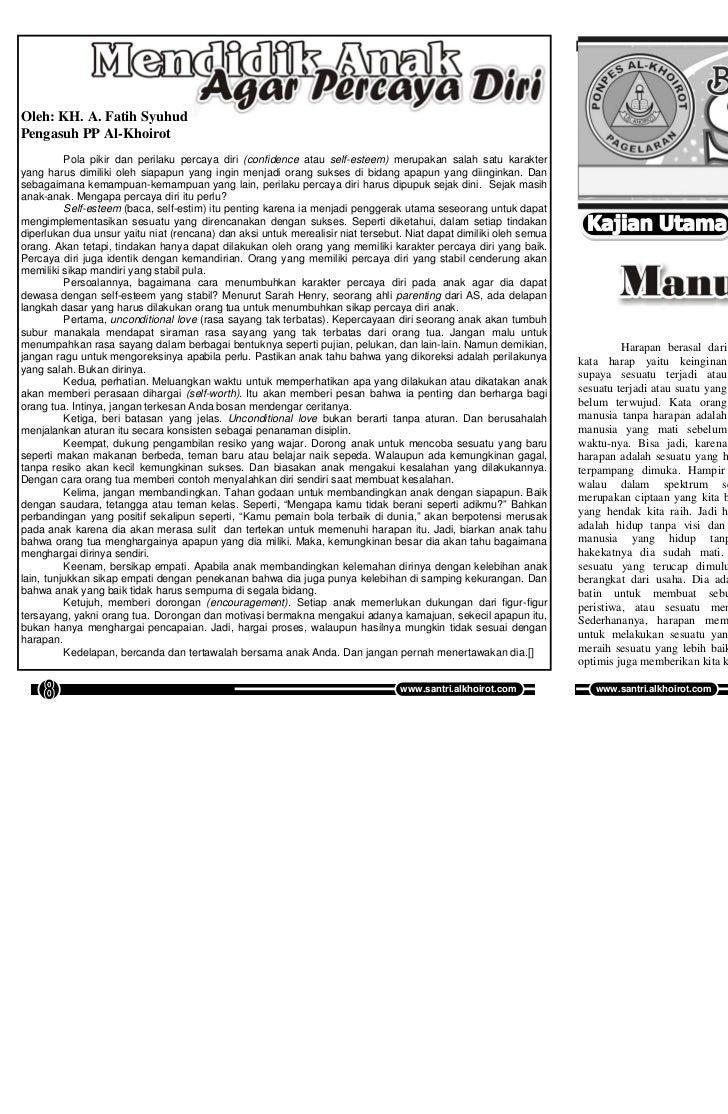 Buletin SANTRI Edisi 36, Vol 04, Mei 2011            Buletin SANTRI Edisi 36, Vol 04, Mei 2011Oleh: KH. A. Fatih SyuhudPen...