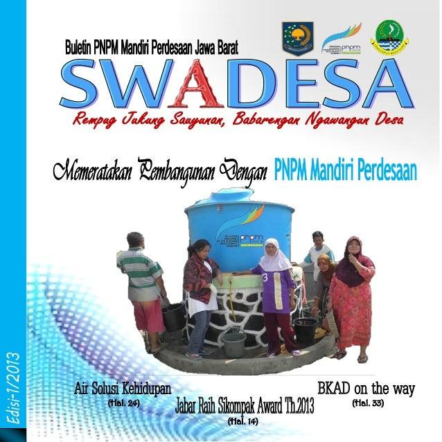 (Hal. 24)  (Hal. 33)  Swadesa-I/2013  www.pnpm-jabar.org (Hal. 14)