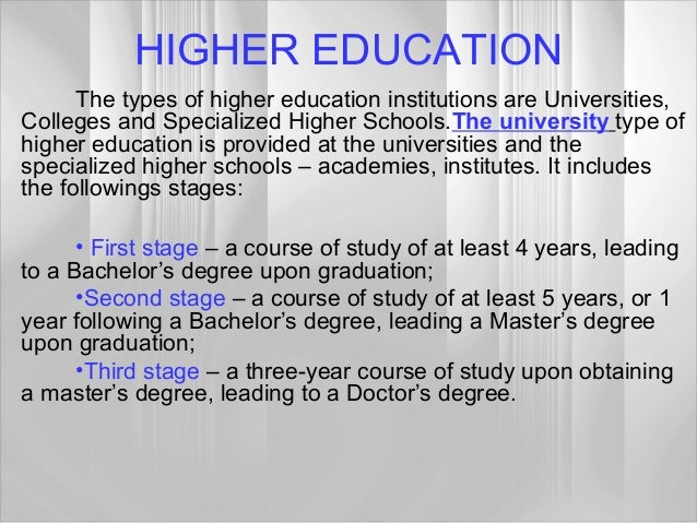 education in my country Essay the education system the education system in my country is different from us education mostly it is similar to france education system the education system in my country is very restricted and it is not easy to graduate from high school.