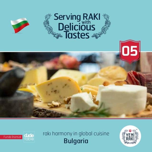 05 Funda İnansal rakı harmony in global cuisine Bulgaria