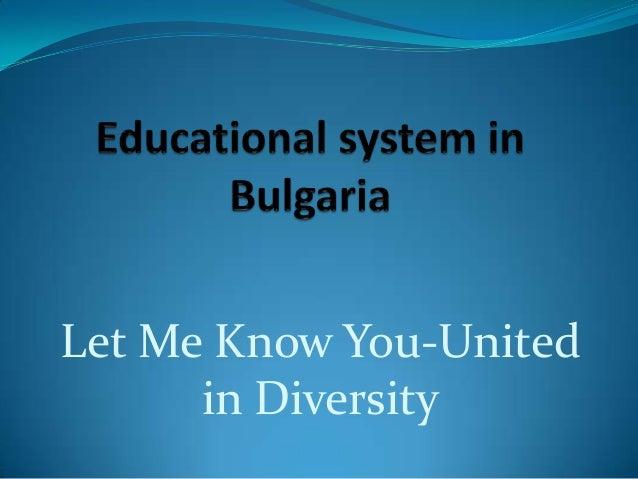 Let Me Know You-Unitedin Diversity