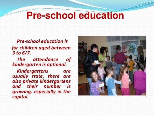 presentation education
