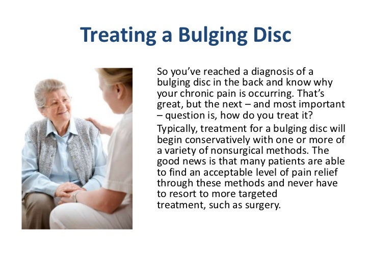 managing symptoms from a bulging disc in your back, Human Body