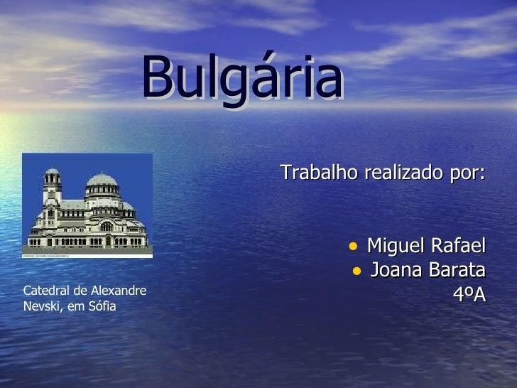 <ul><li>Trabalho realizado por: </li></ul><ul><li>Miguel Rafael </li></ul><ul><li>Joana Barata </li></ul><ul><li>4ºA </li>...