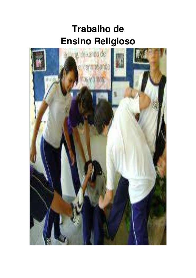 Trabalho de Ensino Religioso
