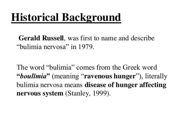 Medical Definition of Bulimia