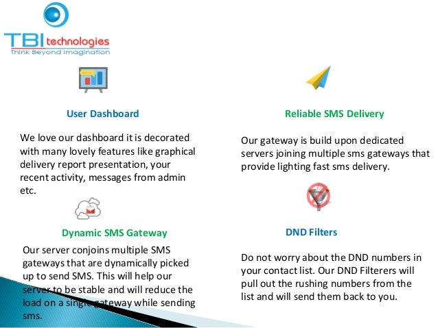 User Dashboard Reliable SMS Delivery We love our dashboard it is decorated with many lovely features like graphical delive...