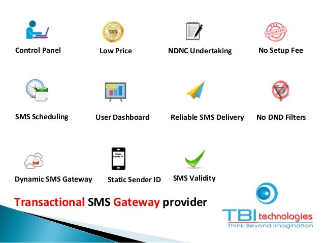 Transactional SMS Gateway provider Control Panel Low Price NDNC Undertaking No Setup Fee SMS Scheduling User Dashboard Rel...