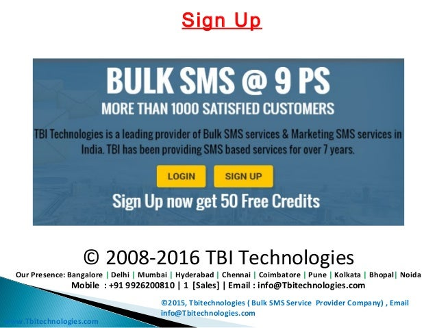 Bulk sms-service-provider-india