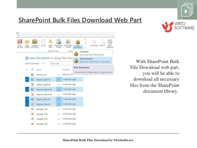 How to upload multiple documents to a sharepoint 2013 site.