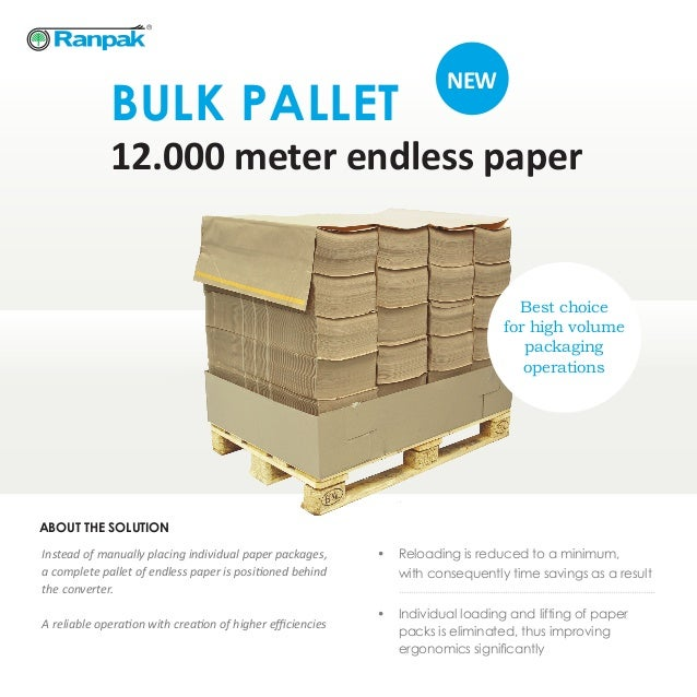 Wholesale Pallet For Sale: Ranpak Bulk Pallet Brochure EN