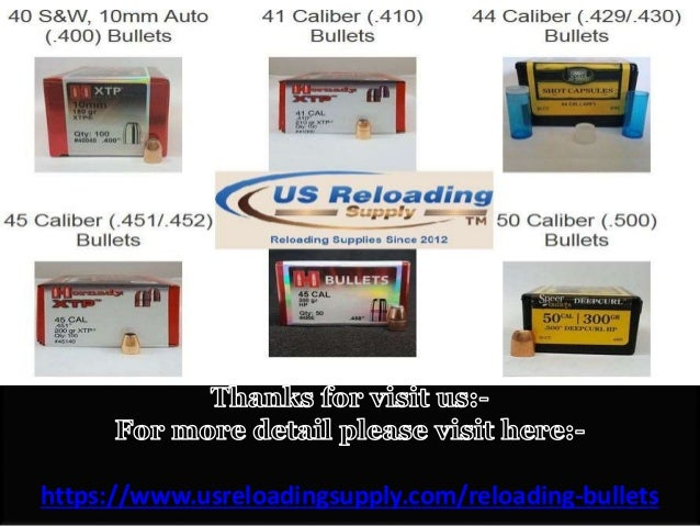 Bulk Reloading Bullets with Free Shipping