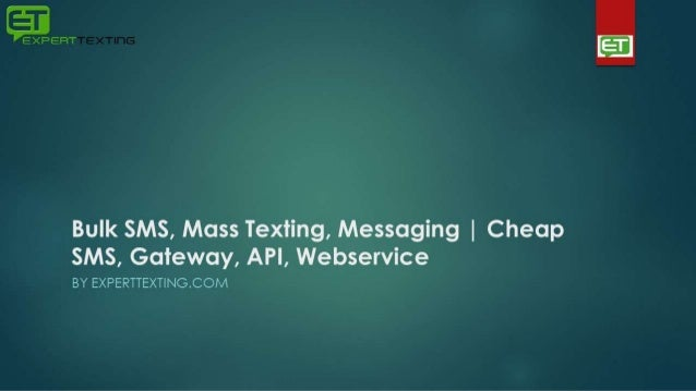 Bulk SMS, Mass Texting, Messaging | Cheap SMS, Gateway, API, Webservi…