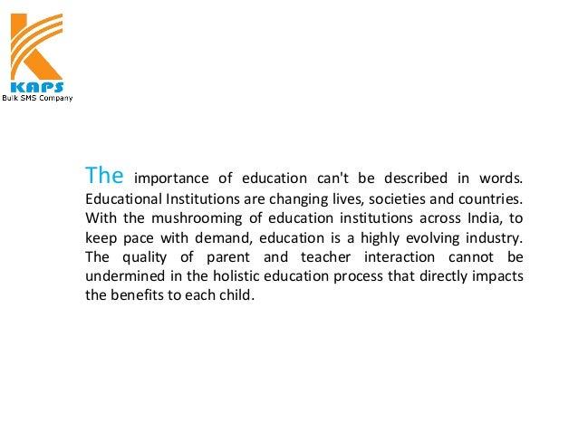 Bulk SMS for Schools India Slide 2