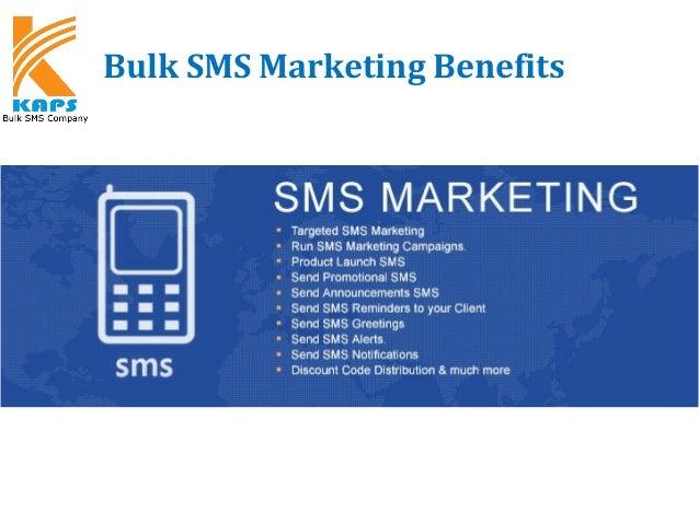 Bulk SMS Marketing Benefits KAPSYSTEM