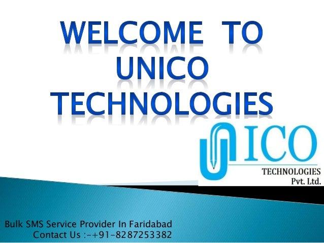 Bulk SMS Service Provider In Faridabad Contact Us :-+91-8287253382