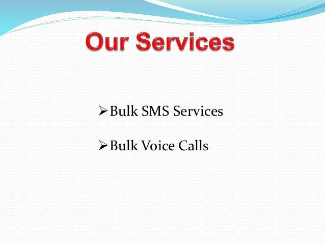 Bulk sms ppt Slide 2
