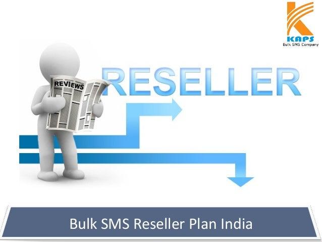 Bulk SMS Reseller Plan India