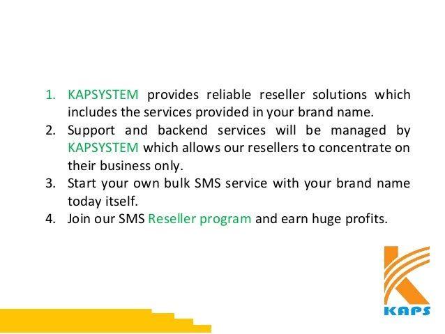 Bulk SMS Reseller Plan India Slide 2