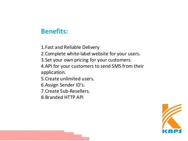 Bulk SMS Reseller Plan India Slide 3
