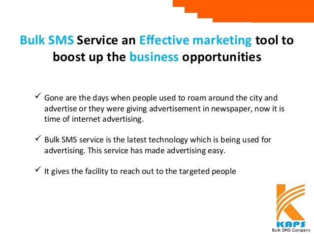bulk SMS business plan